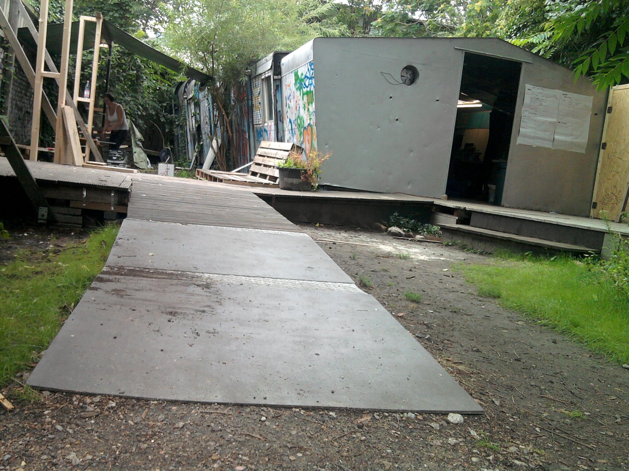 REH ramp